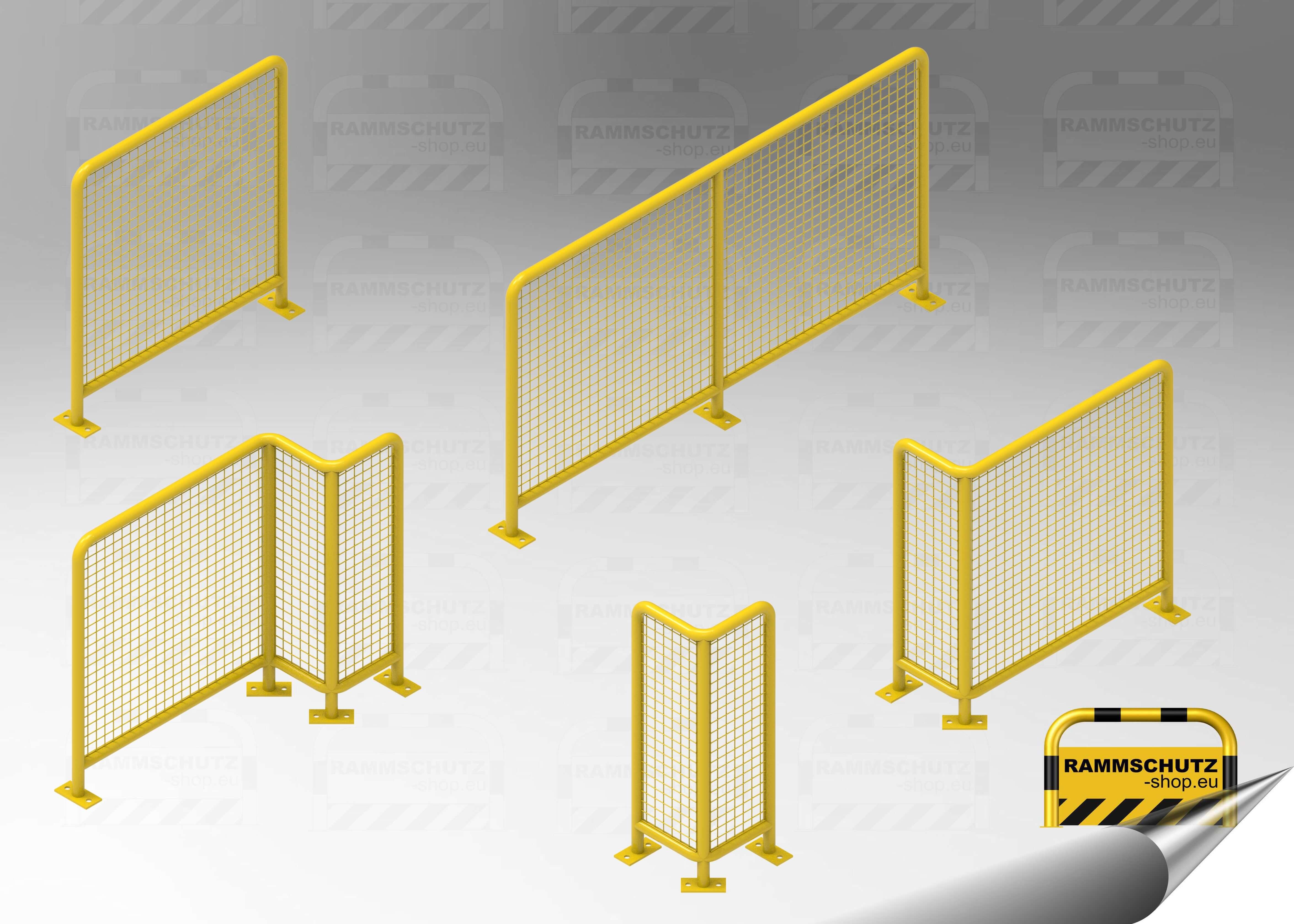 Gitterschutz-Elemente